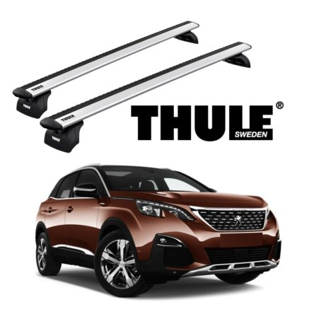 Rack de Teto Thule para Peugeot 3008 SUV 2019>
