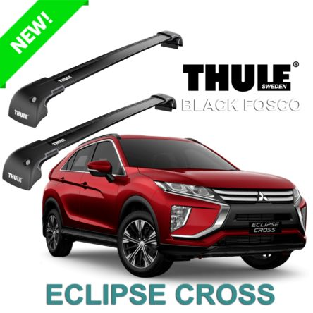 Rack de Teto Thule para Mitsubishi Novo Eclipse Cross 2020 Black