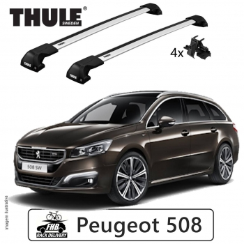 Rack Thule Edge Flush Rail 7206 Peugeot 508sw 2011