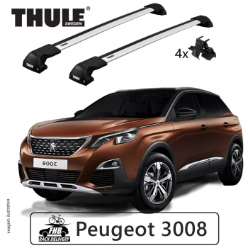 Rack Thule Edge Flush Rail 7206 Peugeot 3008 2017