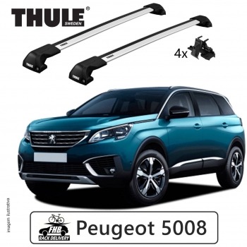Rack Thule Edge Flush Rail 7206 Peugeot 5008 2017
