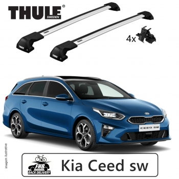 Rack Thule Edge Flush Rail 7206 Kia Ceed sw 2012-18