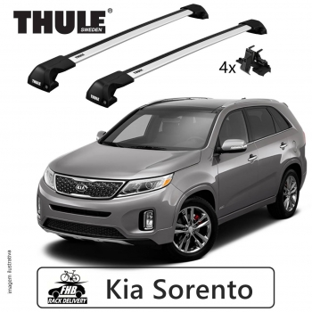 Rack Thule Edge Flush Rail 7206  Kia Sorento 2015-