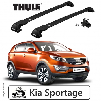 Rack Thule Edge Black Flush Rail 7206  Kia Sportage 2010-16