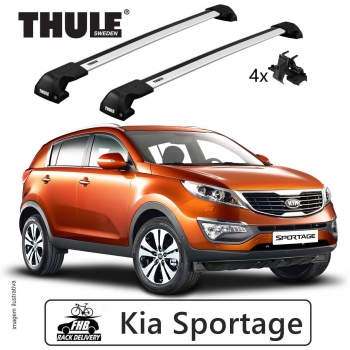 Rack Thule Edge Flush Rail 7206   Kia Sportage 2010-16